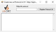 [C#] Demo ứng dụng url protocol trong nền .NET để mở ứng dụng từ website (Chrome, Firefox, IE)