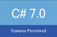 [C#] Giới thiệu và tìm hiểu những tính năng mới của C# 7.0 trong Visual Studio 2017