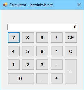 Chương trình máy tính cá nhân C#