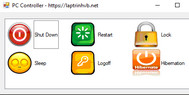 [C#] Hướng dẫn viết ứng dụng đơn giản shutdown, restart, sleep, lock, logoff, hibernation trong windows