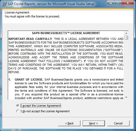 Cài đặt report lập trình