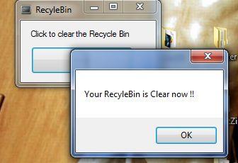 [C#] Empty Recycle Bin trong lập trình csharp