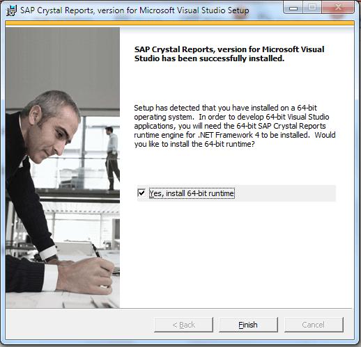 cài đặt hoàn tất reports c#