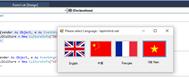 Hướng dẫn viết ứng dụng đa ngôn ngữ (Multi Language) sử dụng Globalization trong VB.NET