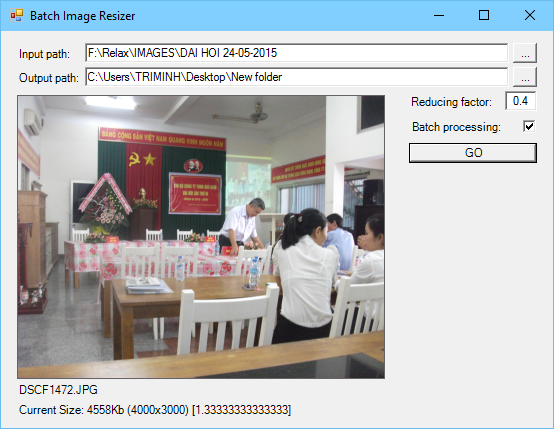Ứng dụng resize ảnh hàng loạt VB.NET