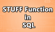 [SQLSERVER] Truy vấn  nhiều column thành một Column sử dụng từ khóa STUFF trong SQL