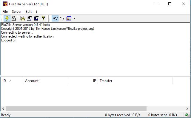 Tạo FTP server bằng Filezilla trong Xampp