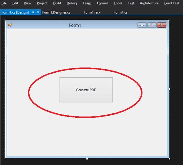 tạo file pdf c#