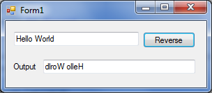 Đảo chuỗi trong VB.NET
