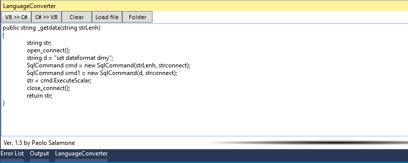 tool convert vb to c# and c# to vb.net