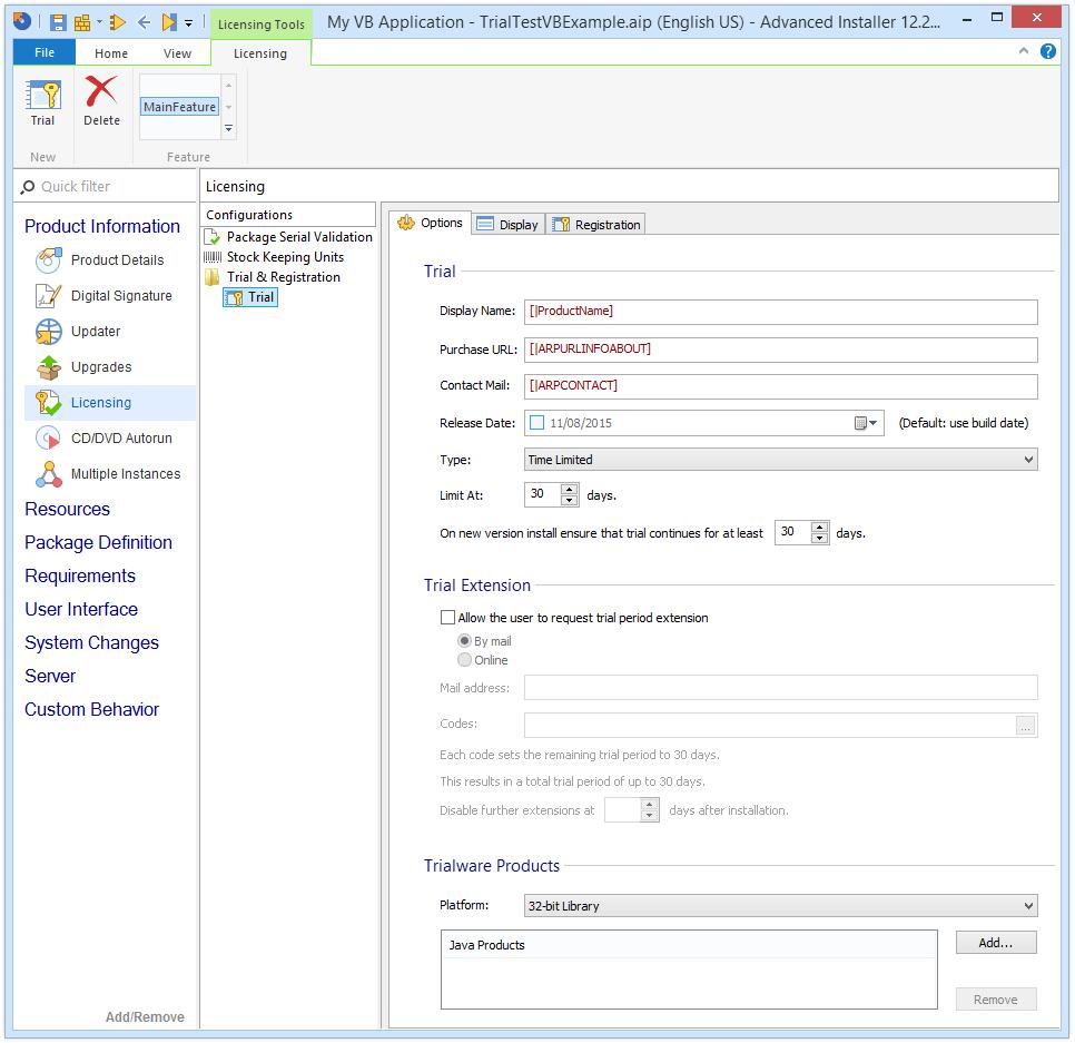 tạo phần mềm dùng thử vb.net