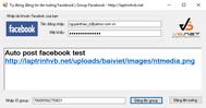 [C#] Phần mềm tự động đăng tin lên Group Facebook - Lập trình C#