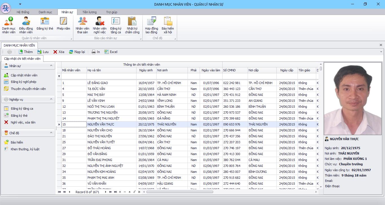Giới thiệu phần mềm quản trị nhân sự