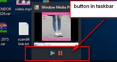 Thêm button vào thanh taskbar c#