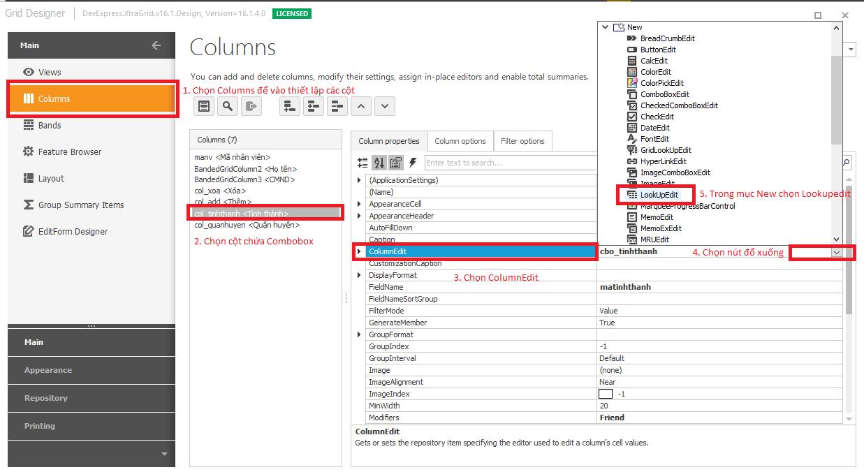 Devexpress Gridcontrol Datasource