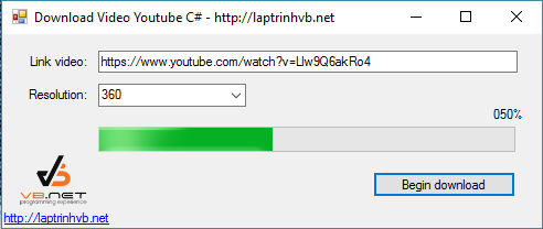 download video youtube lap trinh csharp