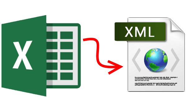 convert excel to xml C#