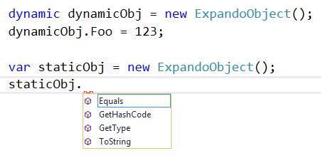 expando object c#