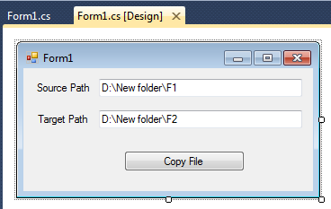form copy file