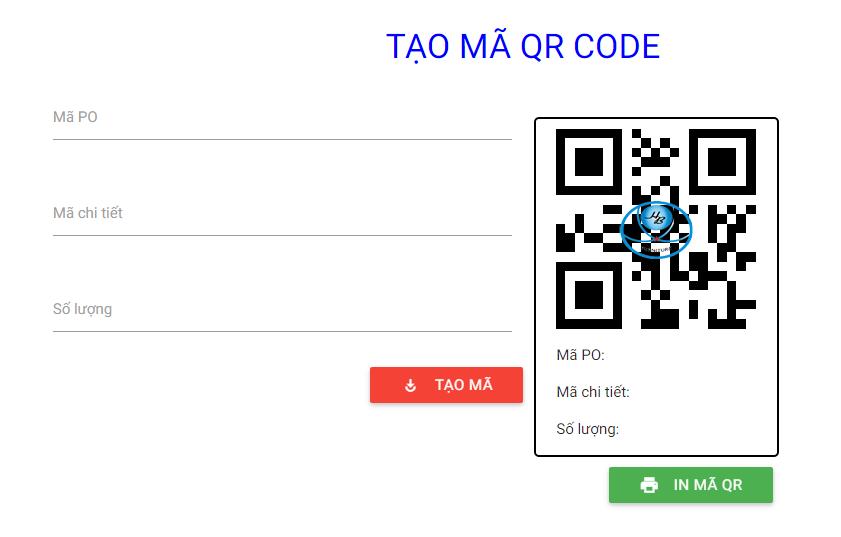 Tạo mã qr code bằng website php, javascript
