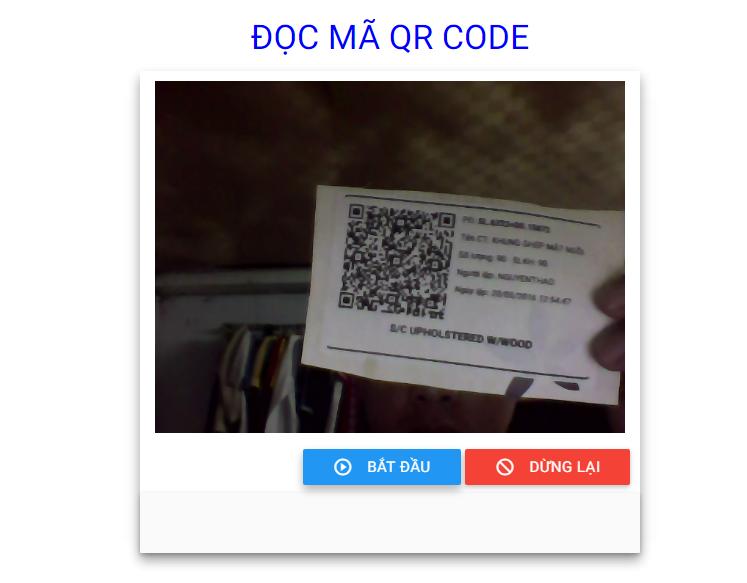 Đọc mã Qr code php, asp, javascript, website