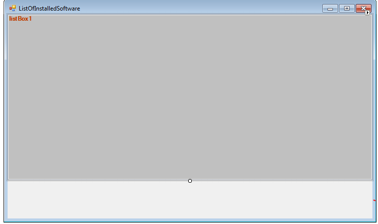 list software c#
