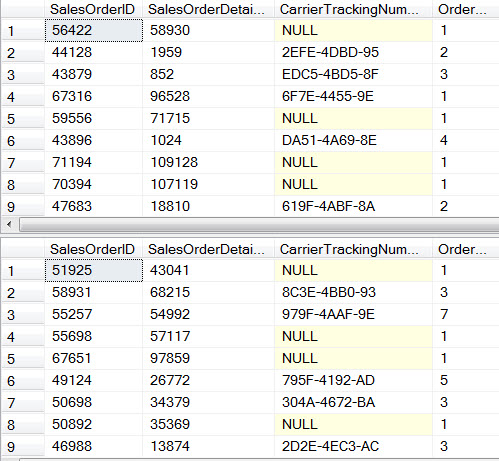 random row in sqlserver