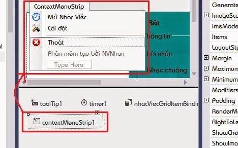 sử dụng nofityIcon C#