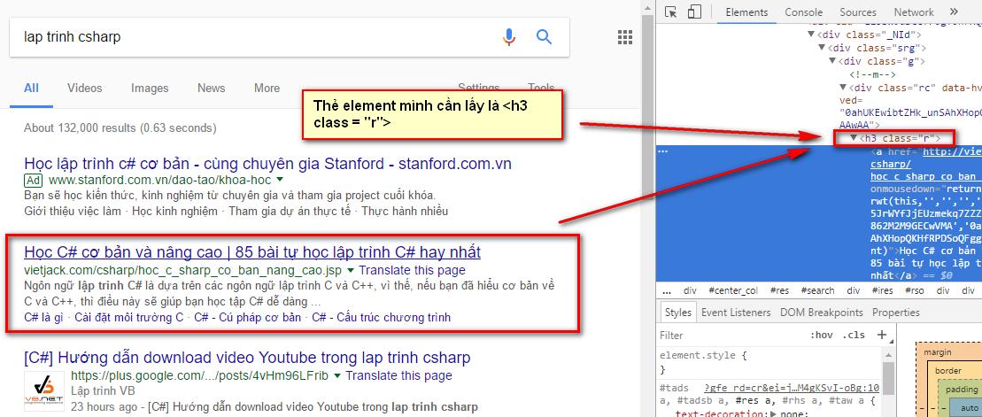 phân tích từ khóa google