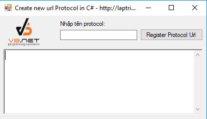tạo url protocol