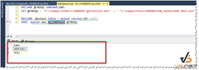 get_version_bat_sql