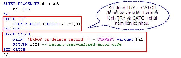 try-catch-with-procedure--create-deleteA-try-catch--declare