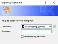 [C#] Hướng dẫn sử dụng hộp thoại chứng thực Windows Credential trong lập trình Winform