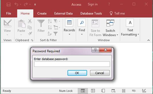[C#] Lập trình cài đặt mật khẩu cho file Microsoft Access và tool giải mã password MDB