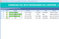 [DEVEXPRESS] Download multi file sử dụng progressbar trên cell gridview