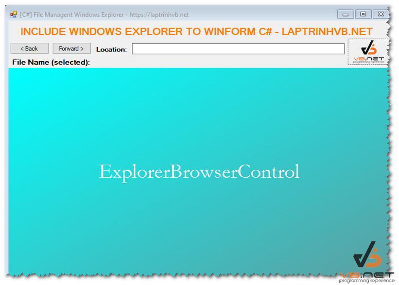 explorerbrowser_control
