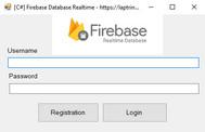 [C#] Hướng dẫn tạo Form đăng ký, đăng nhập thêm xóa sửa CRUD sử dụng Database FireBase Realtime