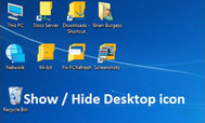 [C#] Hướng dẫn viết ứng dụng show and hide icon desktop windows