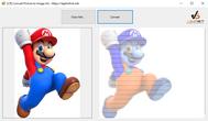 [C#] Hướng dẫn chuyển đổi hình ảnh sang image Art (ASCII)