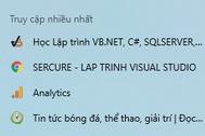 [C#] Hướng dẫn sử dụng JumpList trong Winform