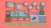 [C#] Cấu hình định dạng ngày tháng, thời gian trên Windows cho ứng dụng Winform