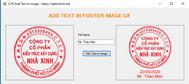 [C#] Hướng dẫn chèn text vào dưới hình ảnh winform