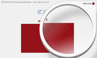 [DEVEXPRESS] Hướng dẫn sử dụng MagnifierDialog lấy mã màu C#