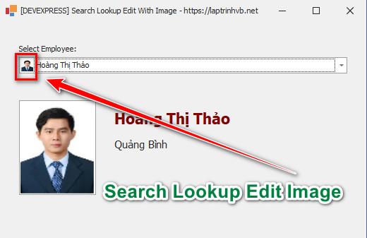 [DEVEXPRESS] Hướng dẫn cách hiển thị hình ảnh Glyph trên SearchLookupEdit