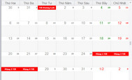 [DEVEXPRESS] Hướng dẫn hiển thị âm lịch Lunnar Calendar trong Schedule Control C#