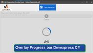 [DEVEXPRESS] Hướng dẫn cách tạo progressbar overlay Gridview C#