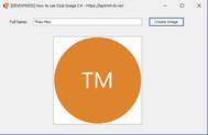 [DEVEXPRESS] Hướng dẫn tạo Text Avatar (Stub Image) thành Image trong C#