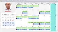 [DEVEXPRESS] Chia sẽ source code hiển thị lịch chấm công quét thẻ nhân viên lên Schedule Control C#