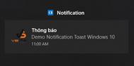 [DEVEXPRESS] Hướng dẫn hiển thị thông báo Notification Windows 10 lập trình C#