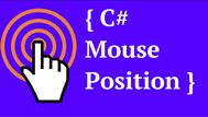 [C#] Hướng dẫn lấy tọa độ con trỏ chuột trên Form csharp